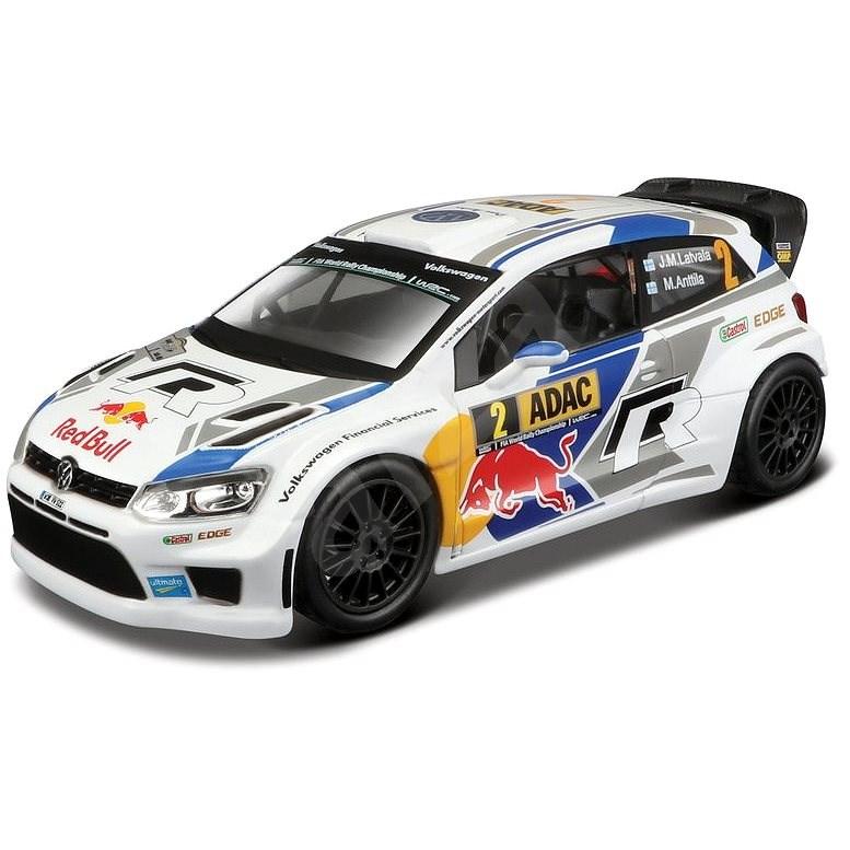 Bburago VW Polo R WRC, Jari-Matti Latvala 1:32 - Játékautó