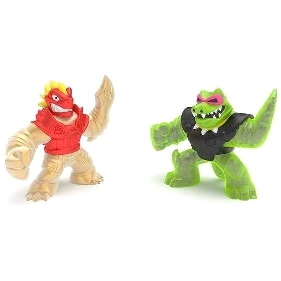 A Goo Jit Zu figurája a Blazagon és a Rock Jaw Double Pack 2. sorozat - Figura