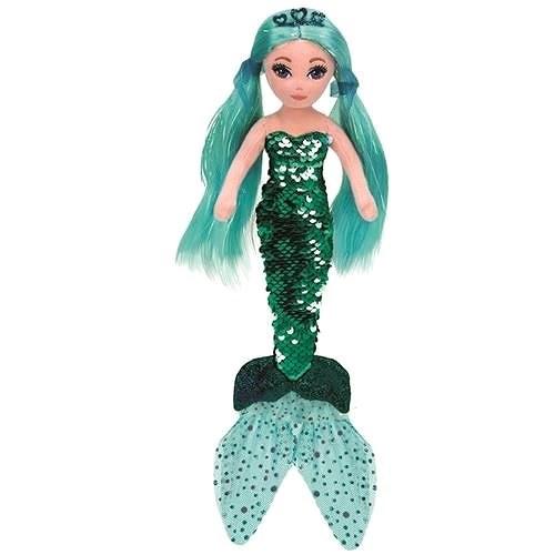 Ty Mermaids Waverly, 45 cm - zöld sellő - Plüssjáték