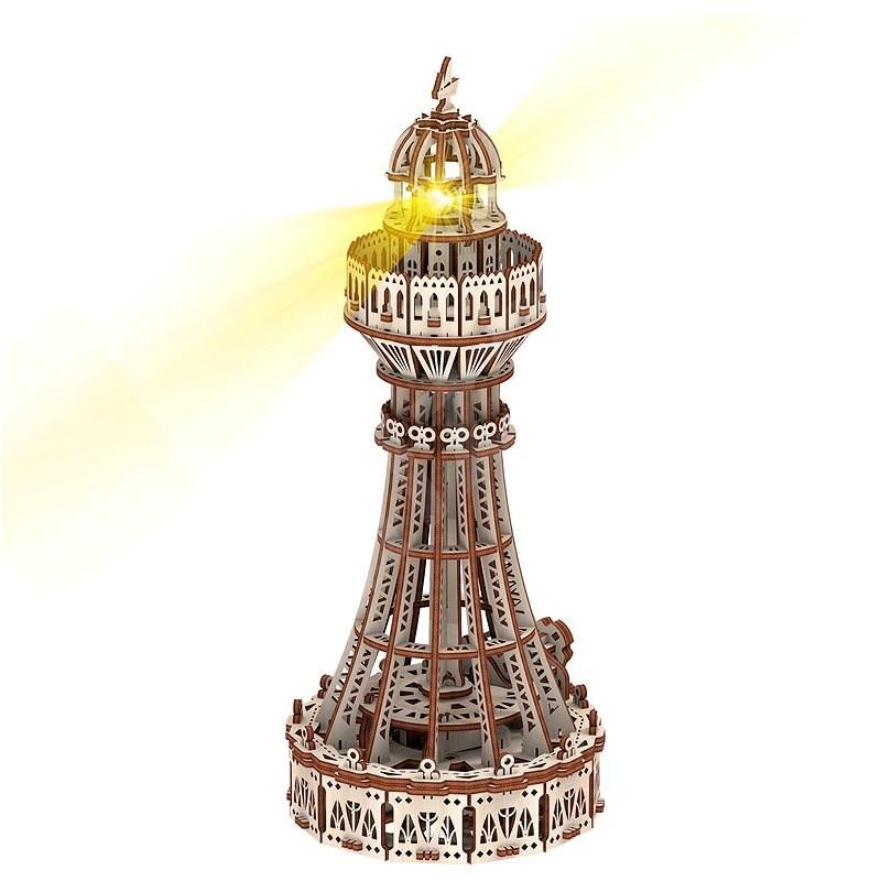 Világítótorony (Eco - light) - Fa építőjáték