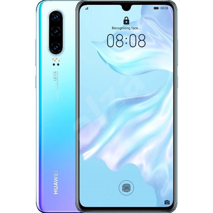 HUAWEI P30 gradiens fehér - Mobiltelefon