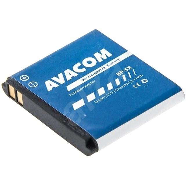 AVACOM akkumulátor Nokia 8800 készülékhez, Li-Ion 3,7V 570mAh (BL-5X helyett) - Mobiltelefon akkumulátor