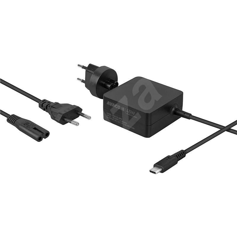 AVACOM USB Type-C 45W Power Delivery - Univerzális hálózati adapter
