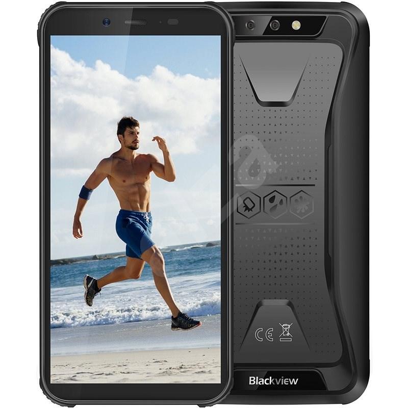 Blackview GBV5500 Plus fekete - Mobiltelefon