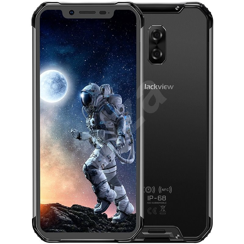 Blackview GBV9600E fekete - Mobiltelefon