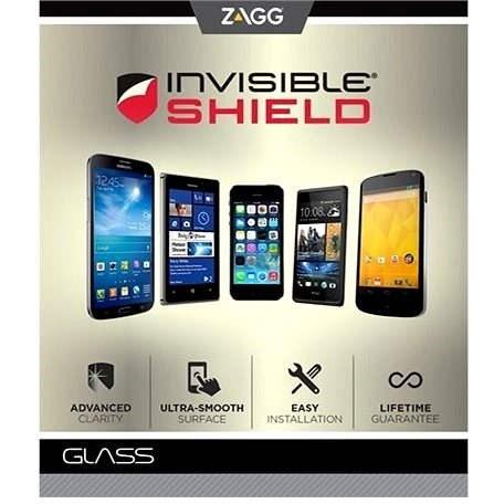 ZAGG invisibleSHIELD Glass Samsung Galaxy Alpha - Képernyővédő
