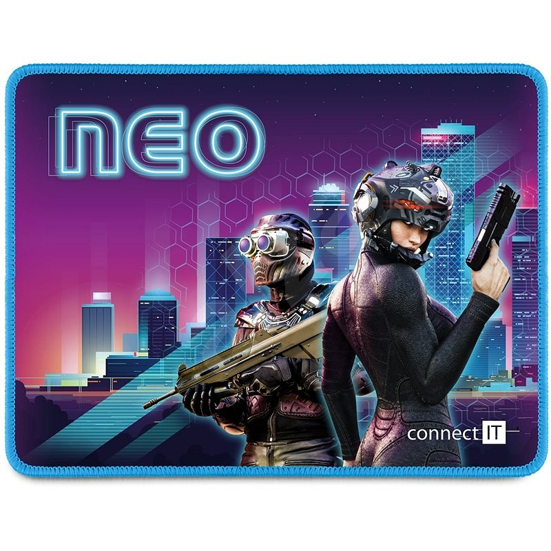 """CONNECT IT CMP-1170-SM """"NEO"""" Gaming Series Small - Egérpad"""