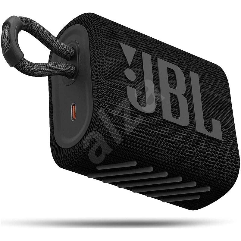 JBL GO 3 fekete - Bluetooth hangszóró