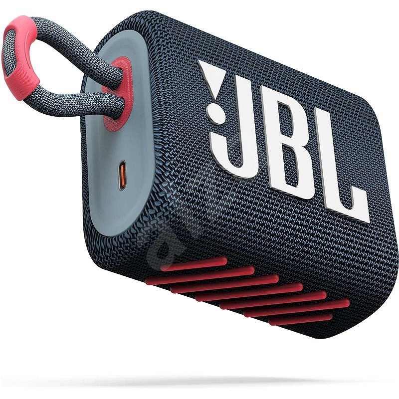JBL GO 3 blue coral - Bluetooth hangszóró