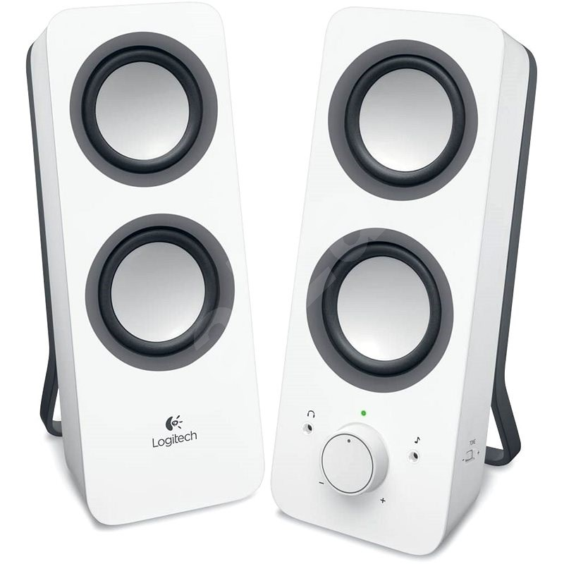 Logitech Multimedia Speakers Z200 fehér - Hangfal