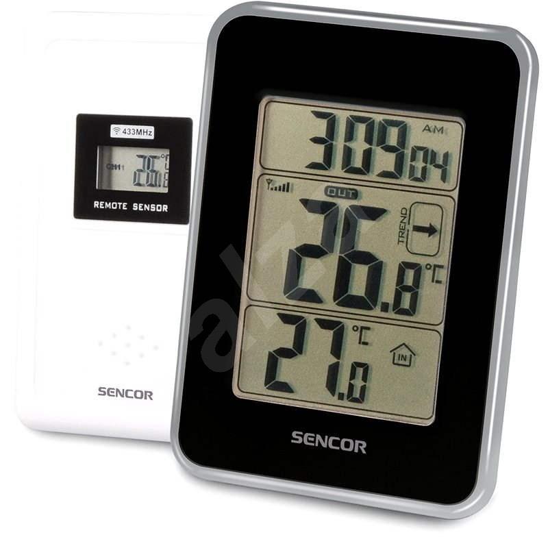 Sencor SWS 25 BS fekete - Időjárás állomás