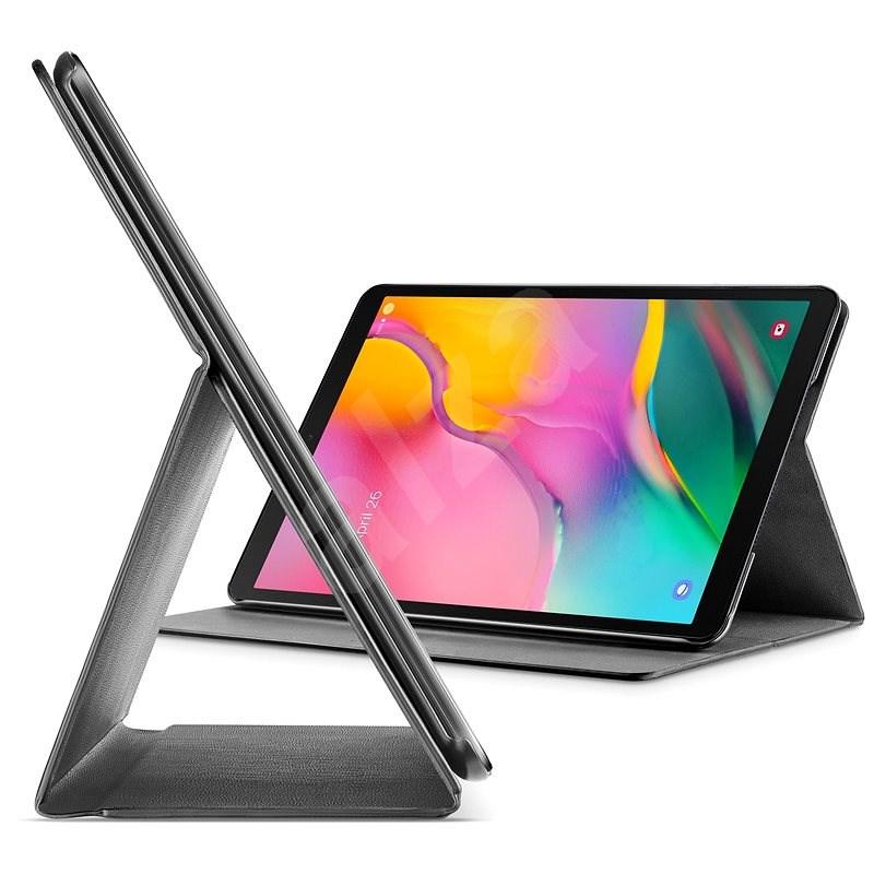 Cellularline FOLIO tok Samsung Galaxy Tab A 10.1 (2019) készülékhez, fekete - Tablet tok