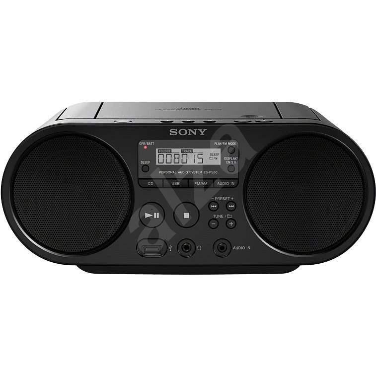 Sony ZS-PS50B - Rádiómagnó