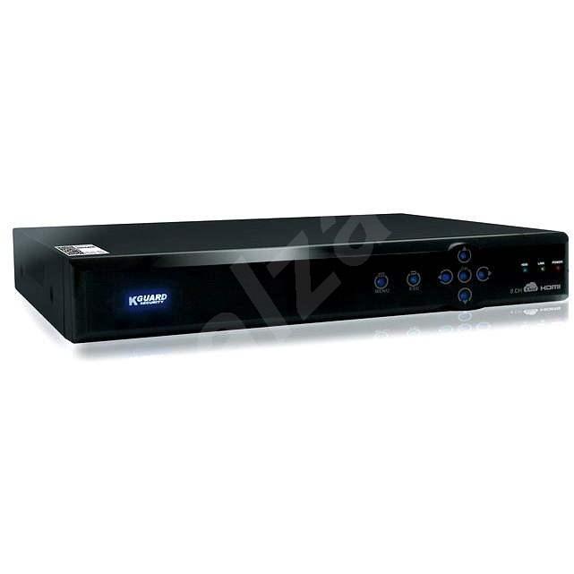 KGUARD Aurora 8 csatornás DVR felvevő AR821 - Videó felvevő