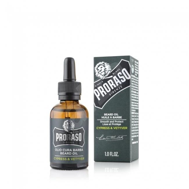 PRORASO Cypress and Vetyver 30 ml - Szakállápoló olaj