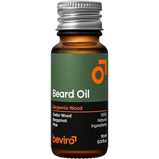 BEVIRO Bergamia Wood 10 ml - Szakállolaj