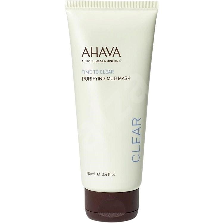 AHAVA Time to Clear Purifying Mud Mask 100 g - Arcpakolás
