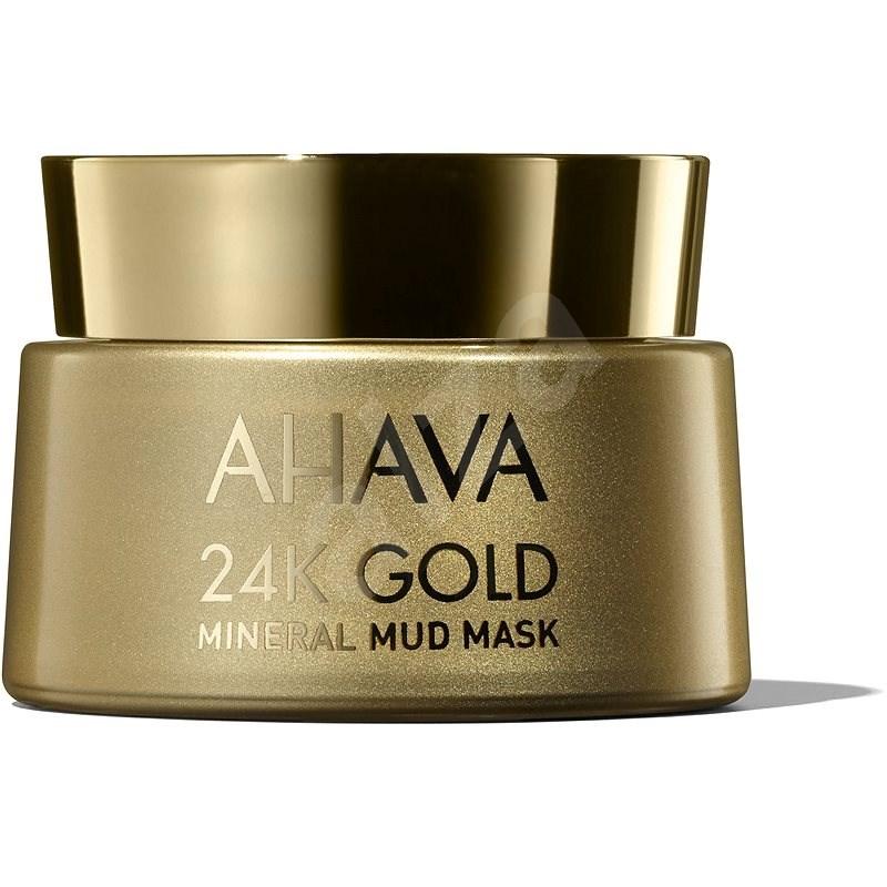 AHAVA Mineral Masks Mineral Mud Mask 24K Gold 50 ml - Arcpakolás