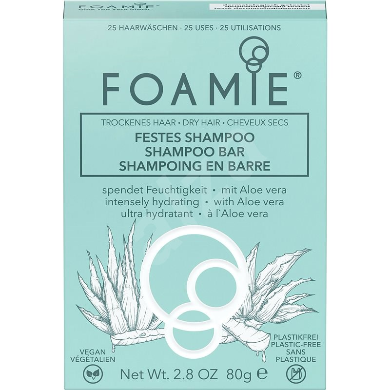 FOAMIE Aloe Spa 80 g - Samponszappan