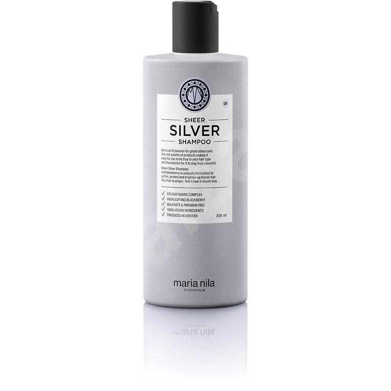 MARIA NILA Sheer Silver 350 ml - Természetes sampon