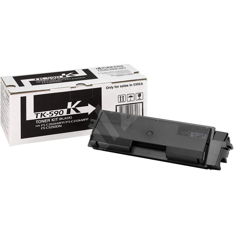 Kyocera TK-590K fekete - Toner