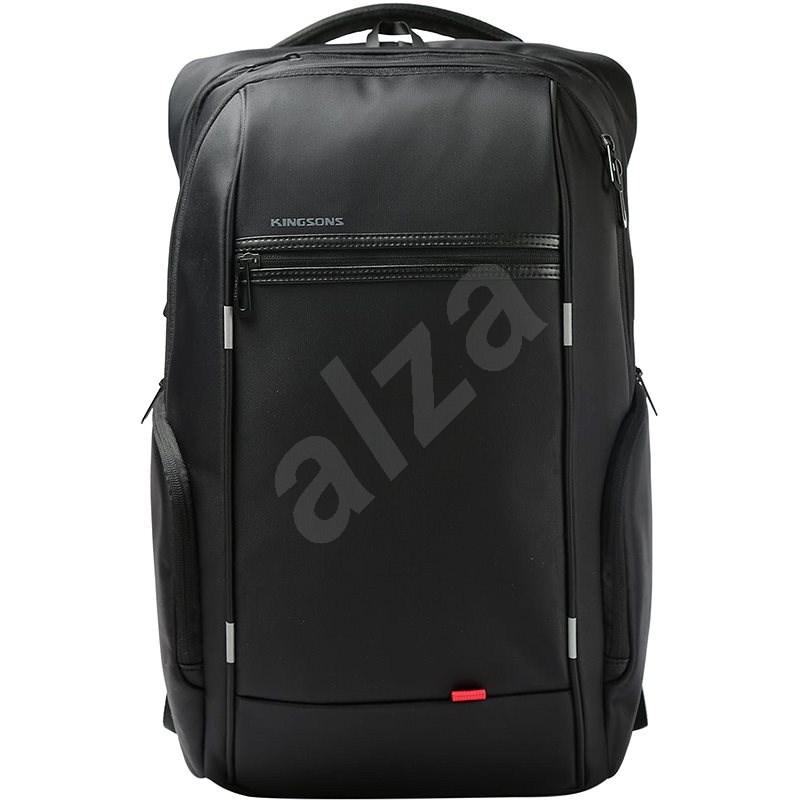 """Kingsons Business Travel Laptop Backpack 17"""" fekete - Laptop hátizsák"""