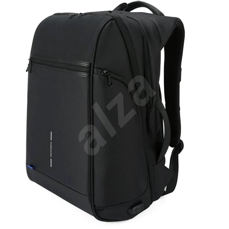 """Kingsons Business Travel USB Laptop Backpack 15.6"""" fekete - Laptop hátizsák"""