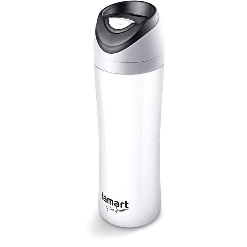 LAMART termosz 0,45 liter fehér Esprit LT4016 - Termosz