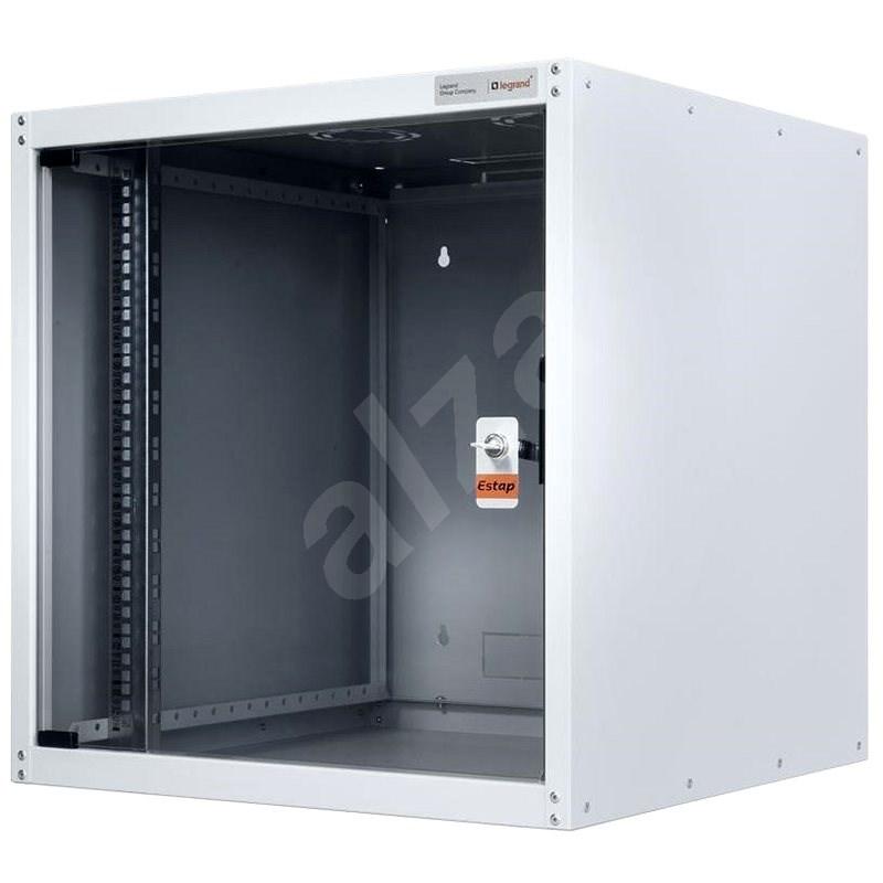 Legrand EvoLine fali kapcsolószekrény 20U, 600x600mm, 65kg, üvegajtó - Kapcsolószekrény