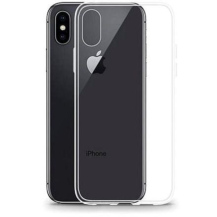 Lenuo Transparent tok iPhone X/XS készülékhez - Mobiltelefon hátlap