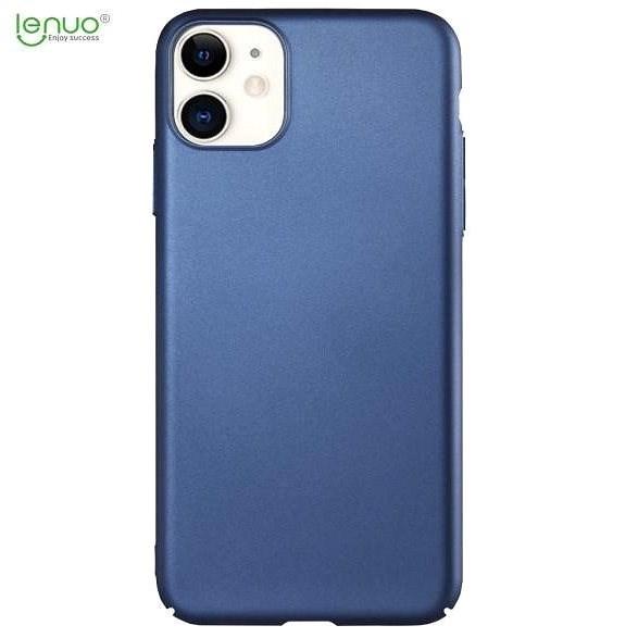 Lenuo Leshield iPhone 11 telefonhoz, kék - Mobiltelefon hátlap