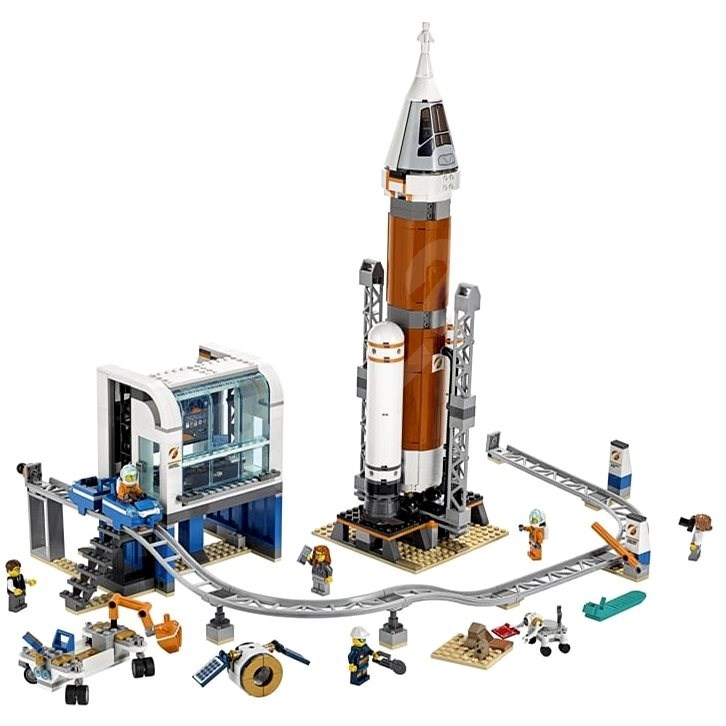 LEGO City 60228 Űrrakéta és irányítóközpont - LEGO