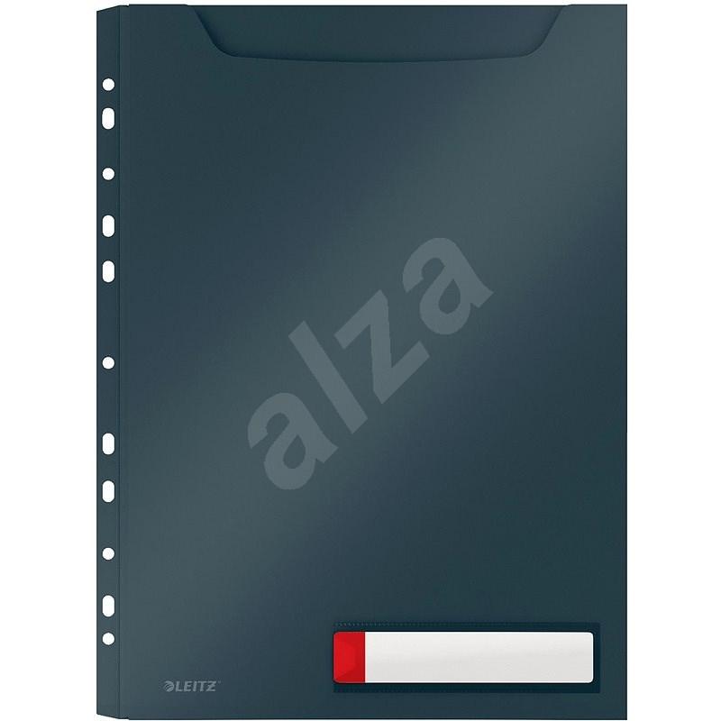 Leitz Cosy A4, PP, nem átlátszó, szürke, 3 db - Iratrendező mappa