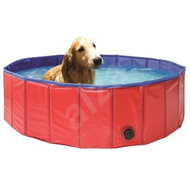 MARIMEX 120 cm-es összecsukható medence kutyáknak - Medence