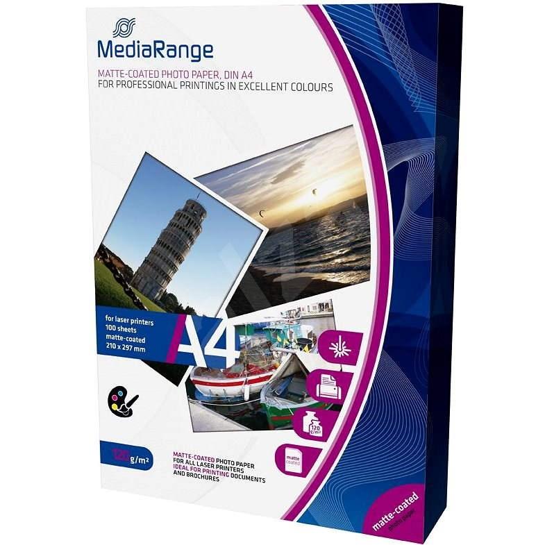 MEDIARANGE A4 100 lap, matt - Fotópapír