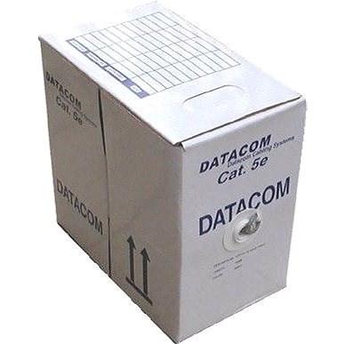 Datacom, drót, CAT5E, UTP, kültéri, 305m / doboz - Hálózati kábel
