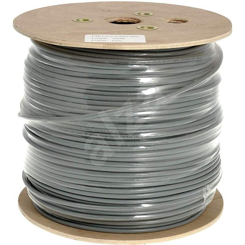 Datacom CAT6, FTP, PVC kábel, 305 m / tekercs - Hálózati kábel