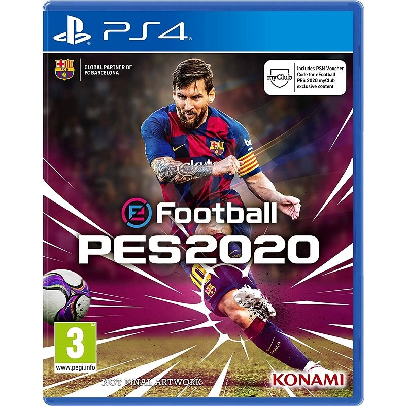 eFootball Pro Evolution Soccer 2020 - PS4 - Konzol játék
