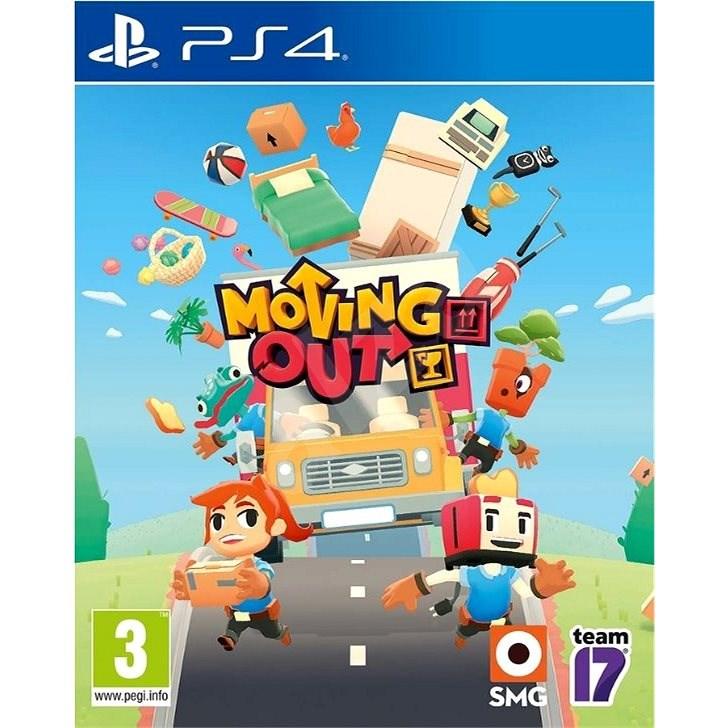 Moving Out - PS4 - Konzol játék