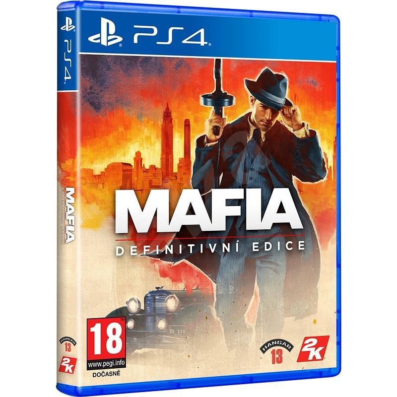 Mafia Definitive Edition - PS4 - Konzol játék
