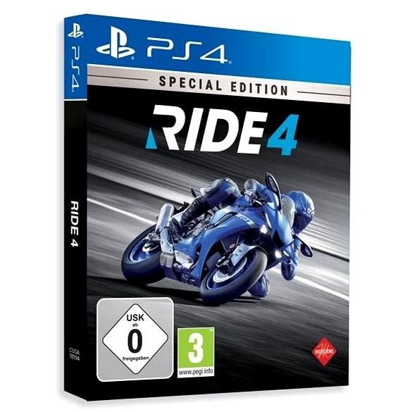 RIDE 4: Special Edition - PS4 - Konzol játék