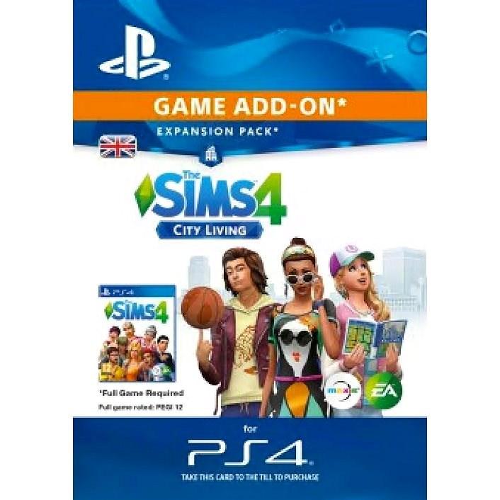 The Sims™ 4 City Living - PS4 HU Digital - Videójáték kiegészítő