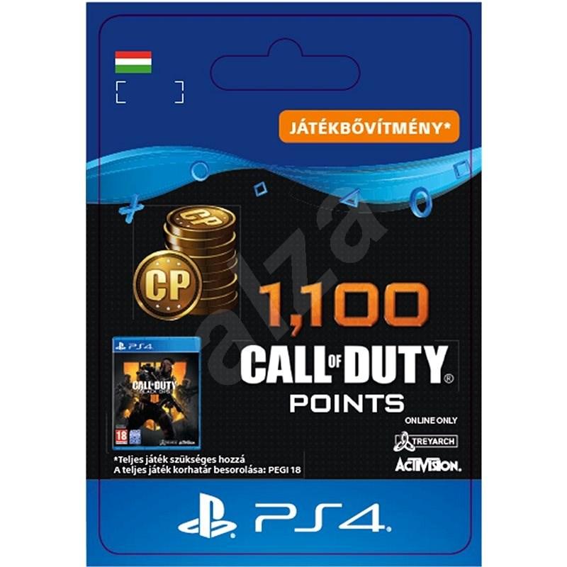1,100 Call of Duty: Black Ops 4 Points - PS4 HU Digital - Videójáték kiegészítő