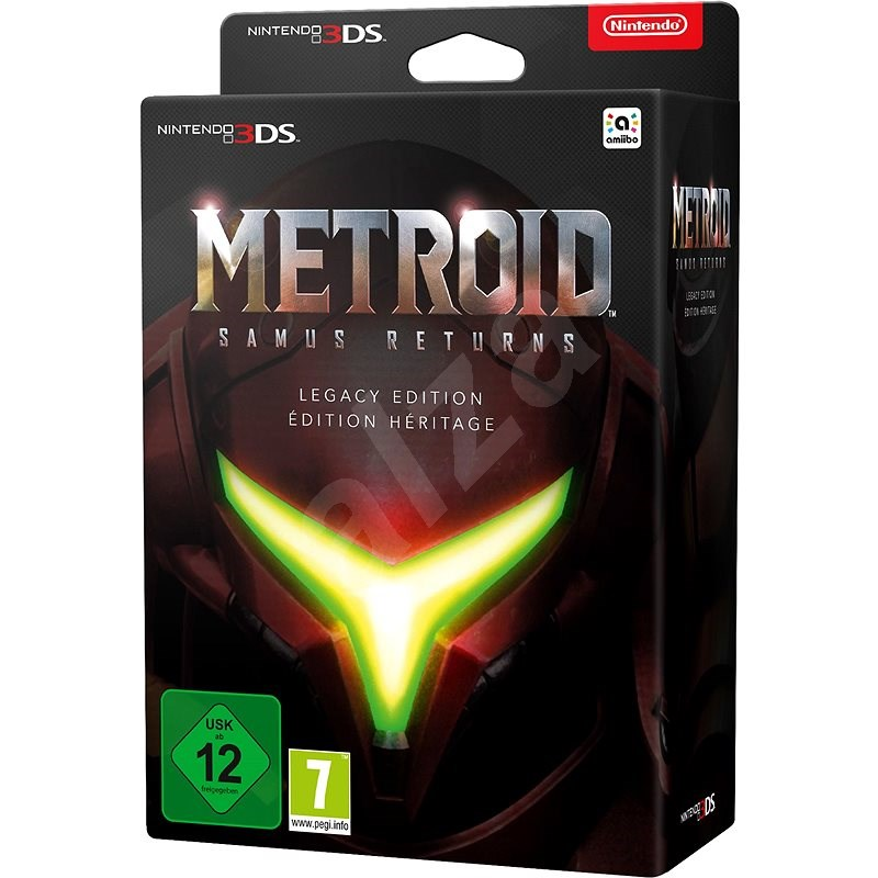 Metroid: Samus Returns Legacy Edition - Nintendo 3DS - Konzol játék