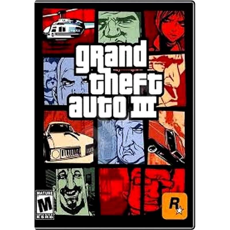 Grand Theft Auto III - PC játék