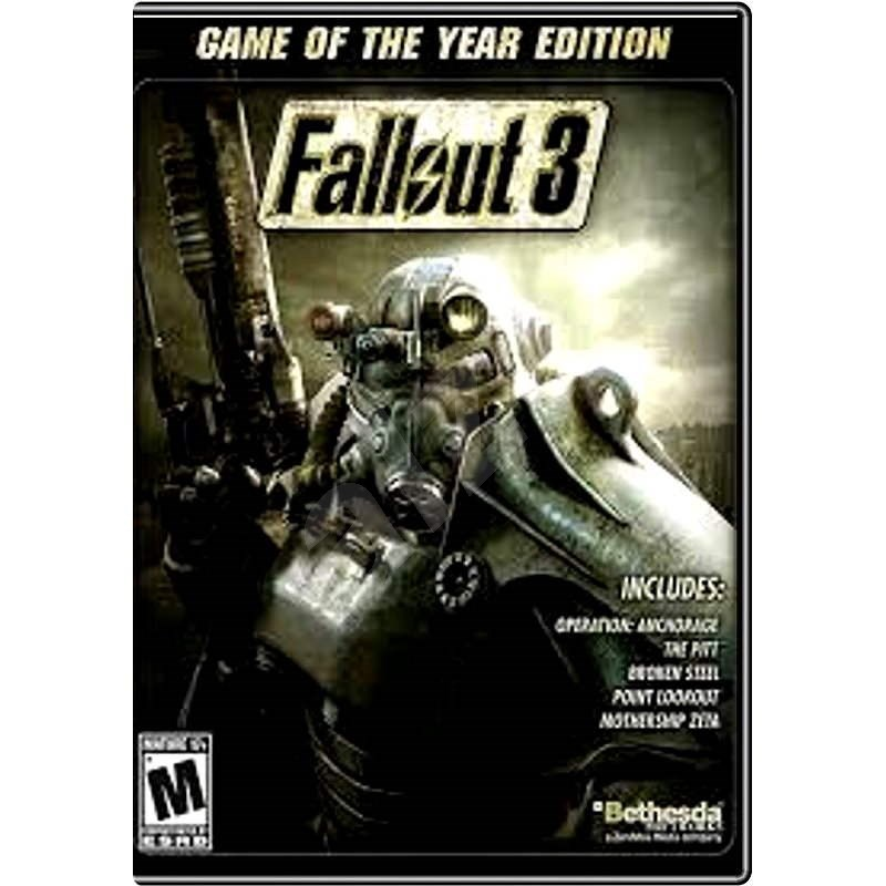 Fallout 3 Game of the Year Edition - PC játék