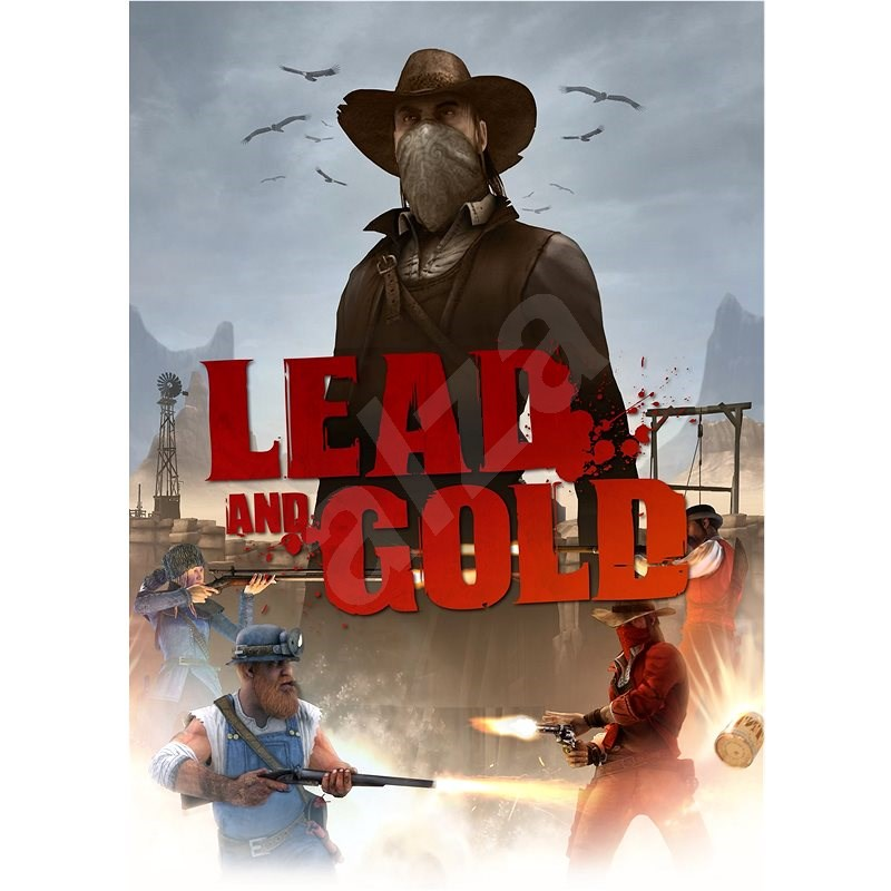 Lead and Gold: Gangs of the Wild West (PC) DIGITAL - PC játék