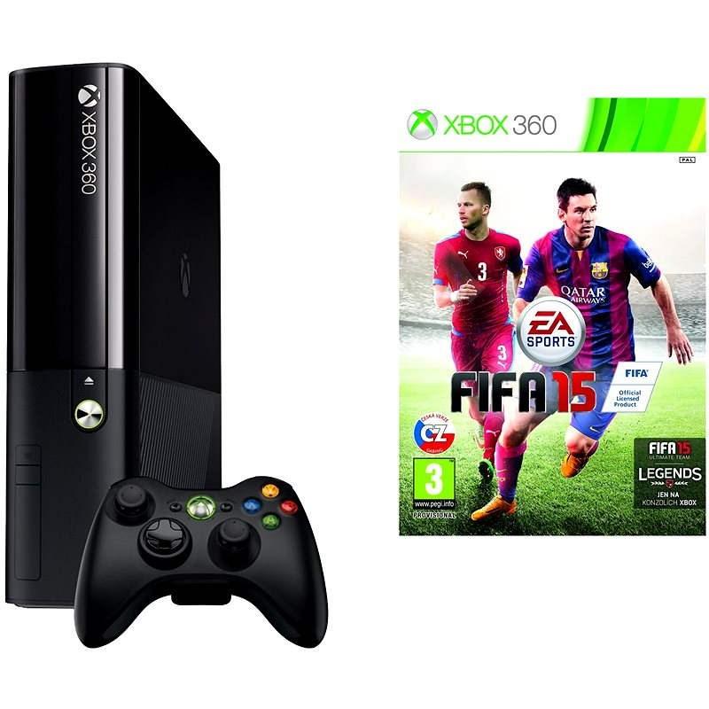 Microsoft Xbox 360500 GB + FIFA 15 - Game Console