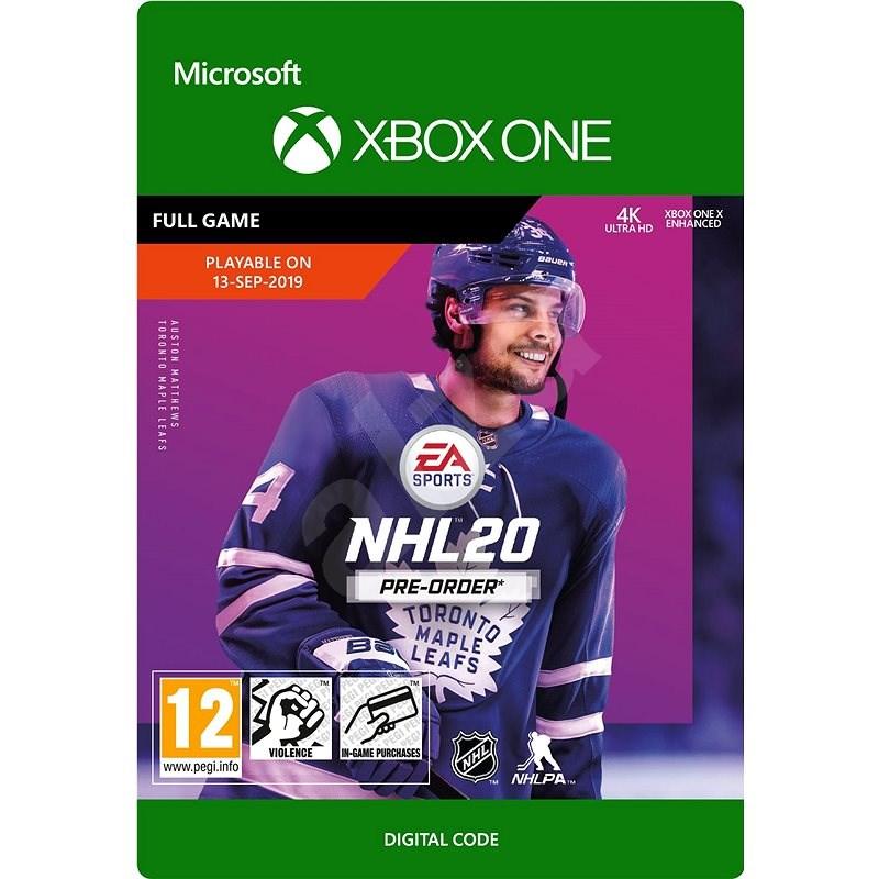 NHL 20: Standard Edition - Xbox One Digital - Konzol játék