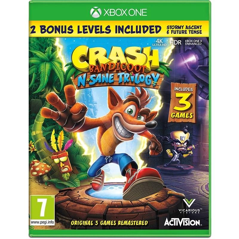 Crash Bandicoot N Sane Trilogy - Xbox One - Konzol játék